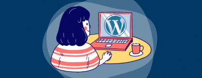 Building a site with Wordpress header